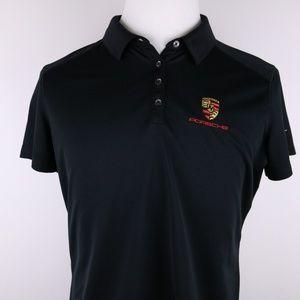 NIKE Youth XL 16-18 Polo Shirt * Porsche Logo